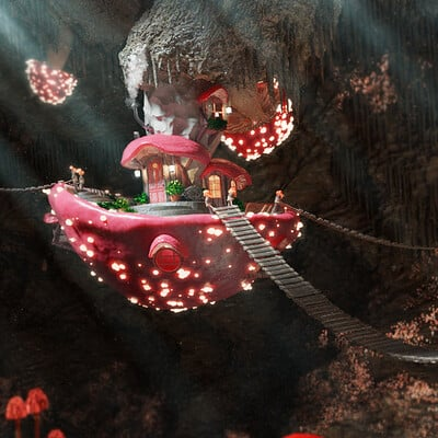 Hanna loegering mushroomhouse hannaloegering