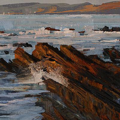 Greg rutkowski sea study 1600