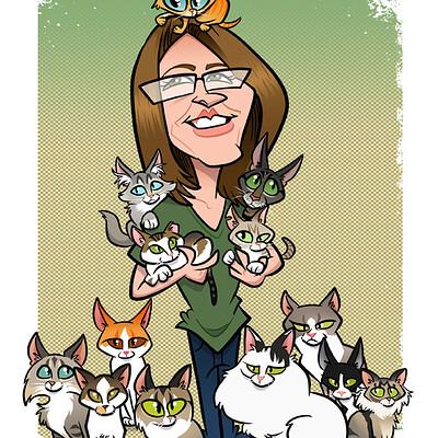 Steve rampton cats pics
