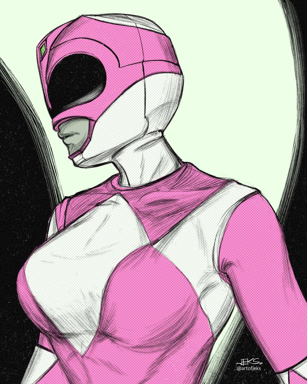 30 - Pink Ranger of Power Rangers