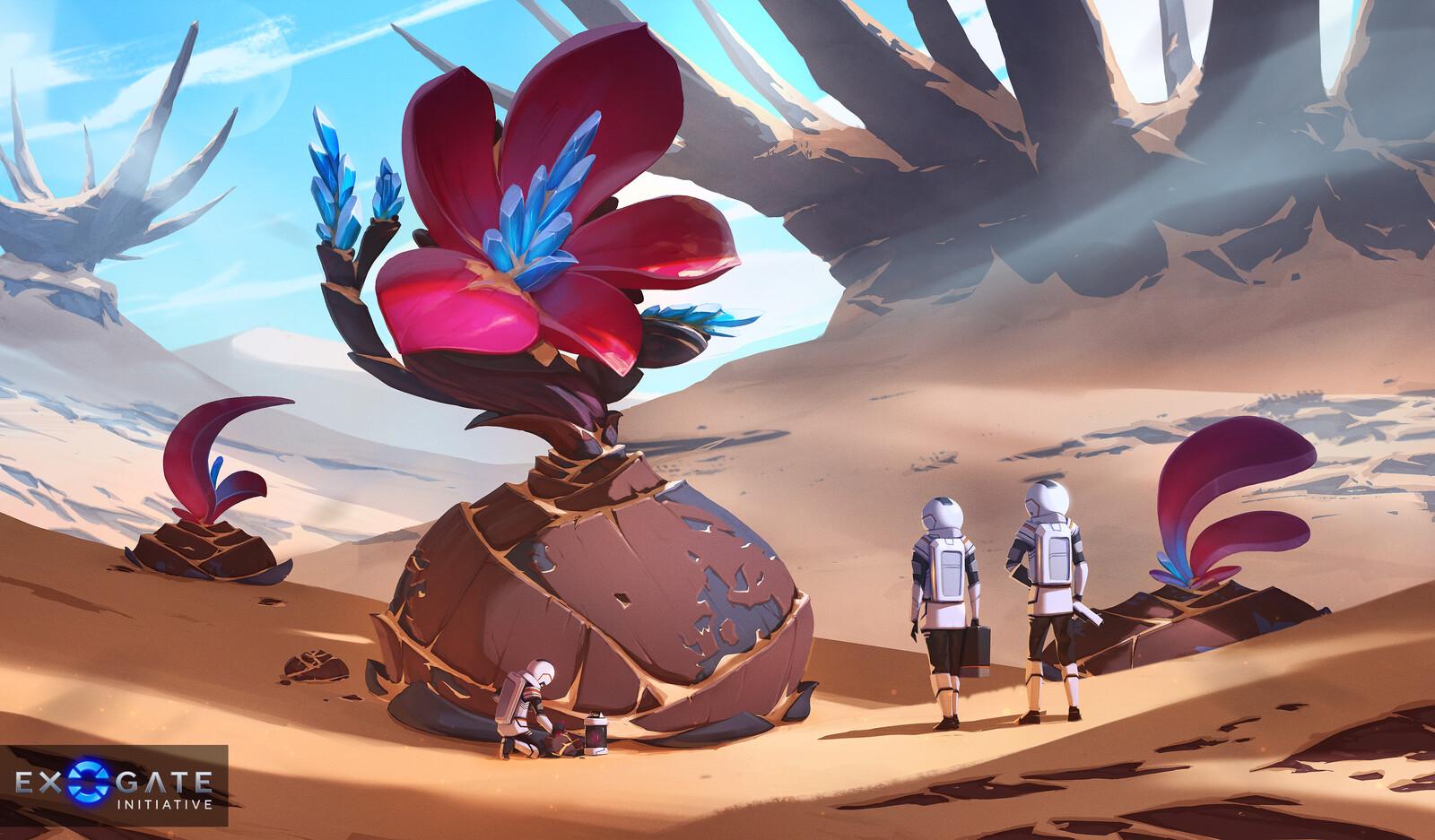 Exogate Initiative - Flora Encounter