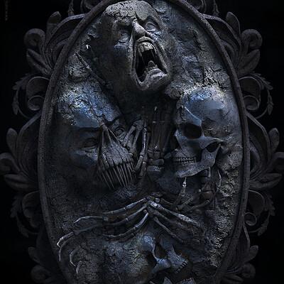 Surajit sen mirror digital sculpture surajitsen nov2020a1 l