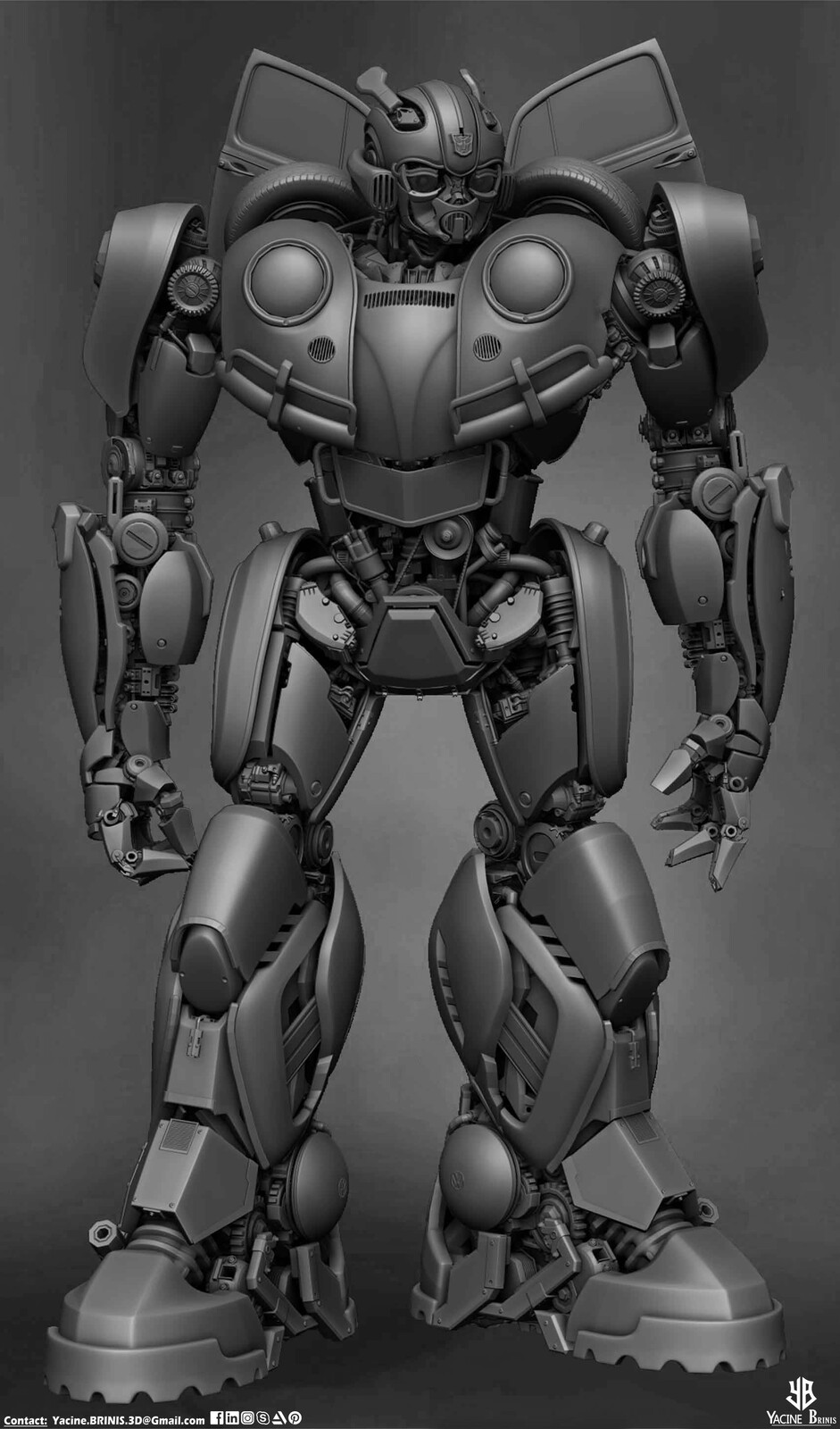 Bumblebee-Paramount Pictures-Designed by Yacine BRINIS-008