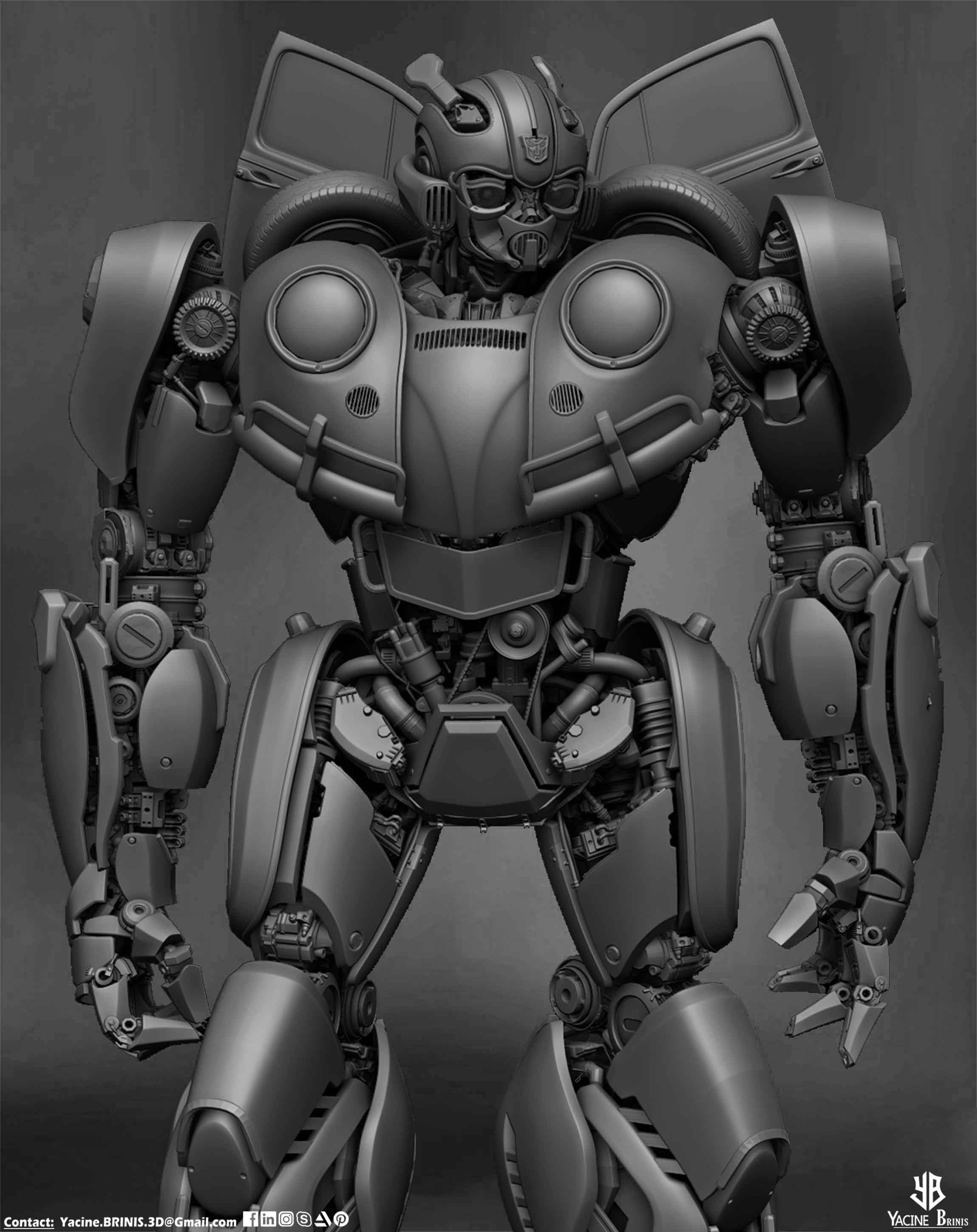 Bumblebee-Paramount Pictures-Designed by Yacine BRINIS-009