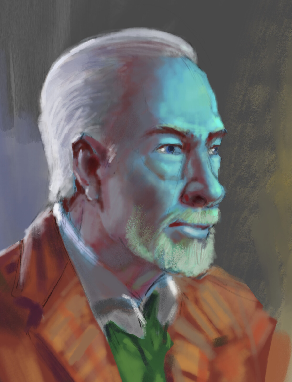 Christopher Plummer study