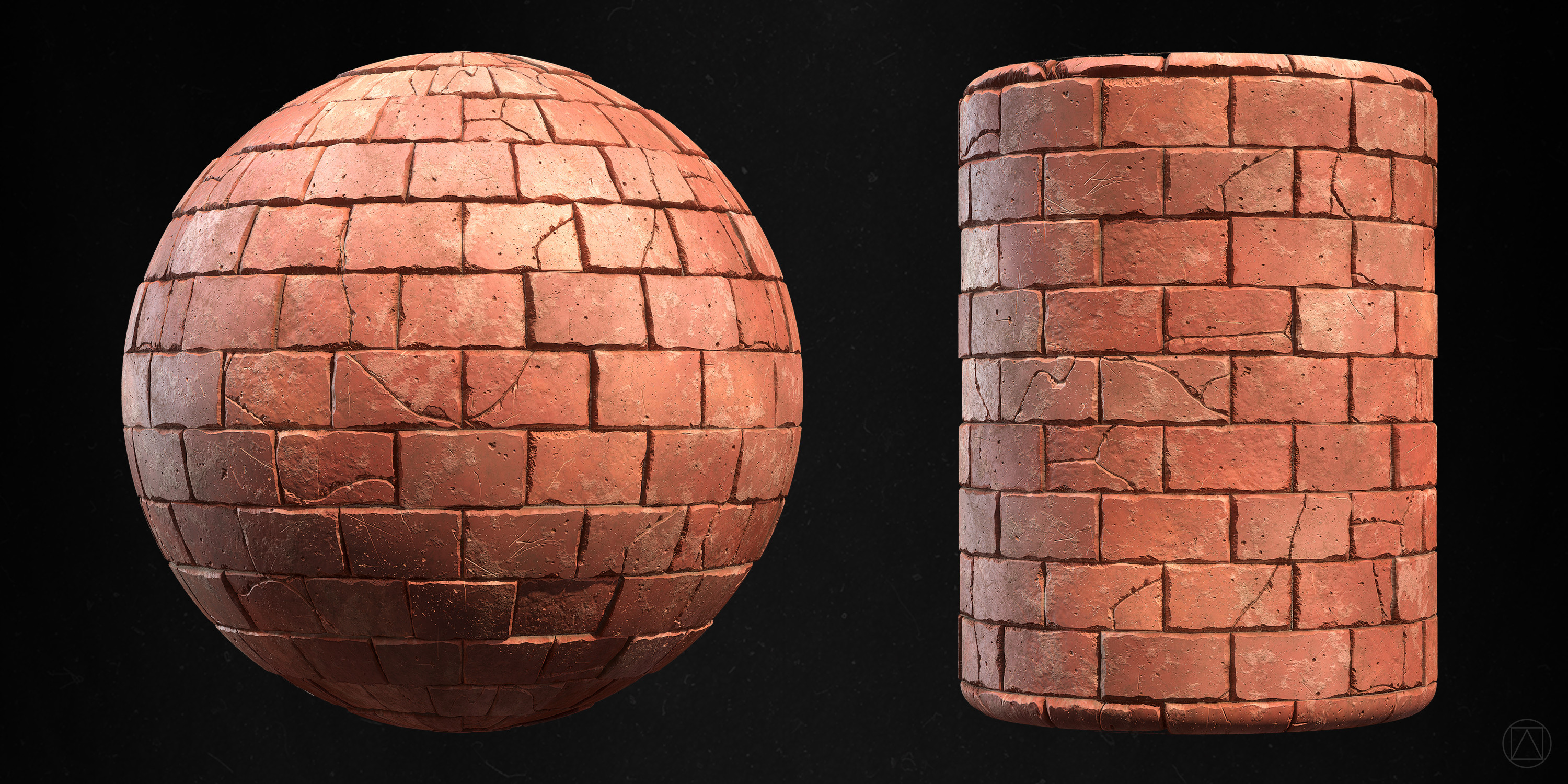 100% Substance Designer, rendered in Marmoset Toolbag 3.