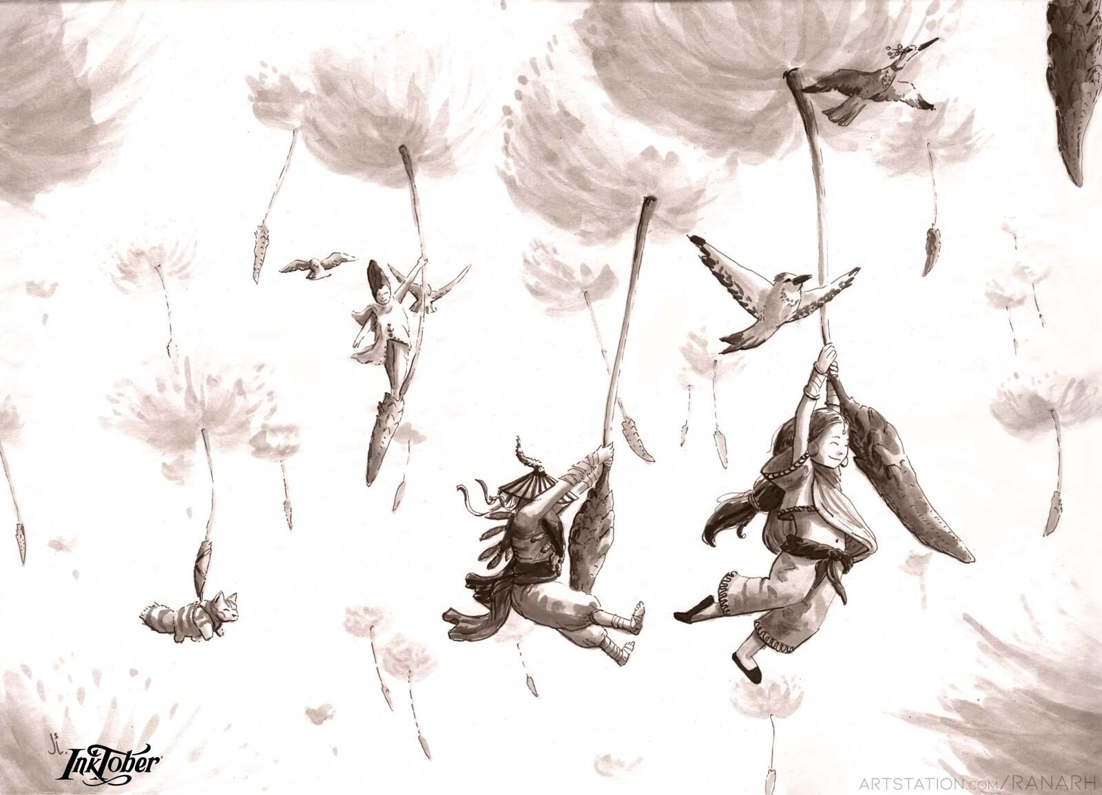 2. Wisp Dandelion Flyers