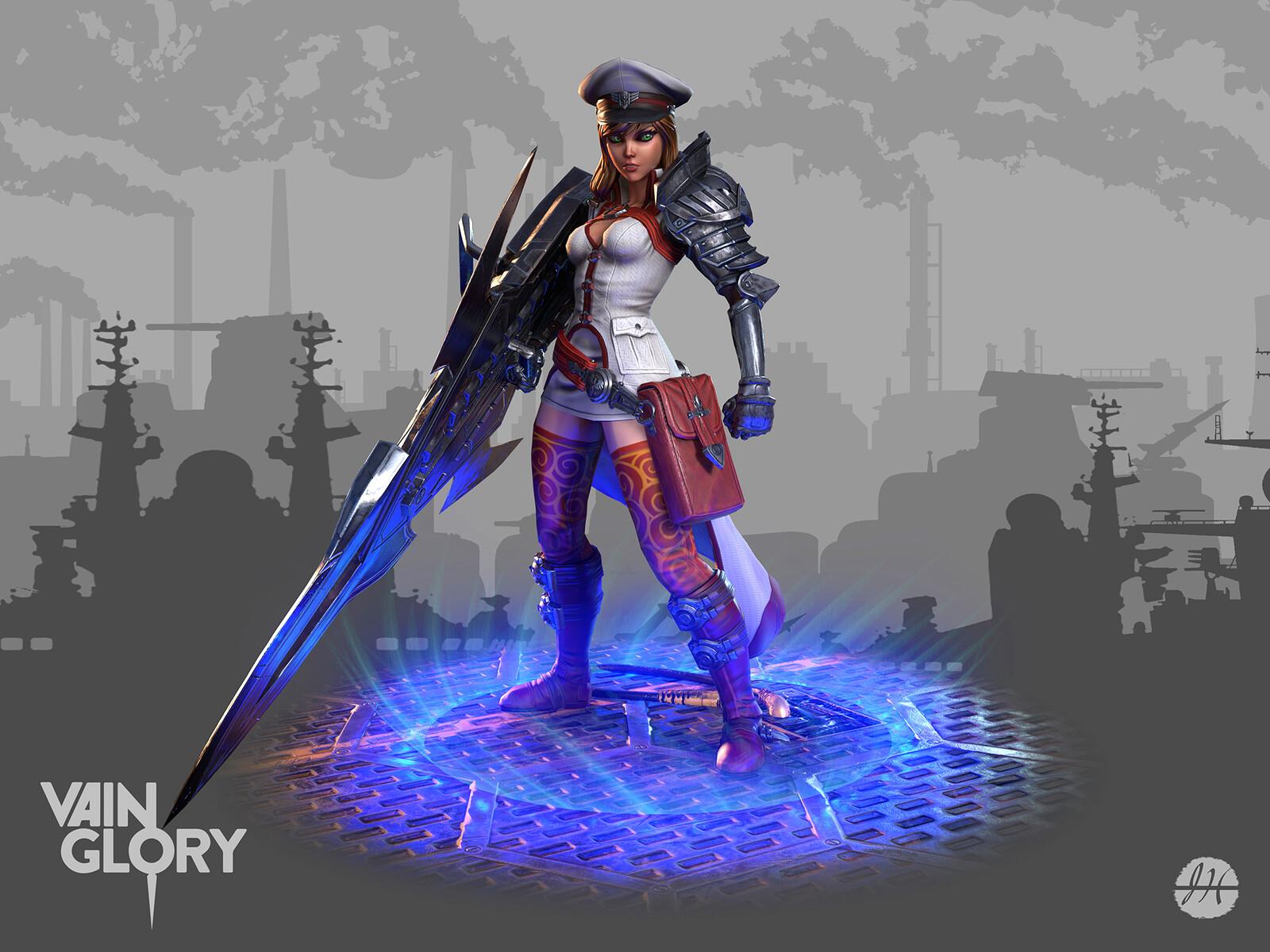 Catherine hero PC from Vainglory