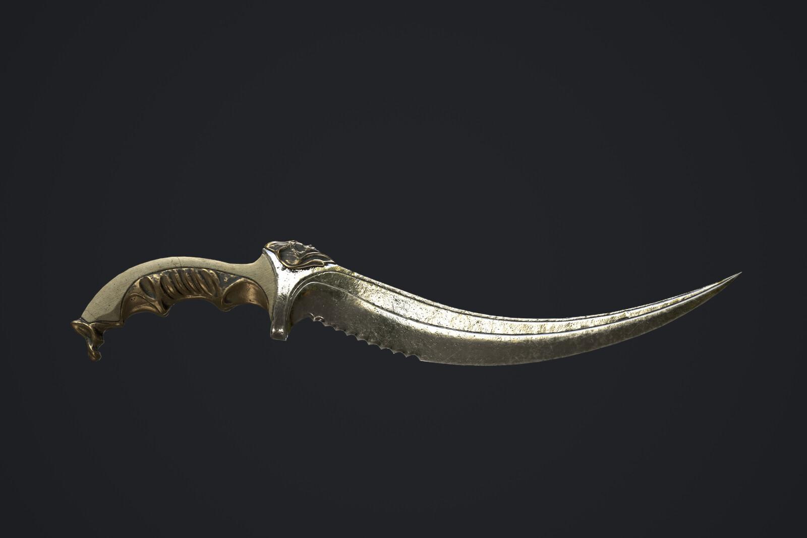 Dark Elf Dagger