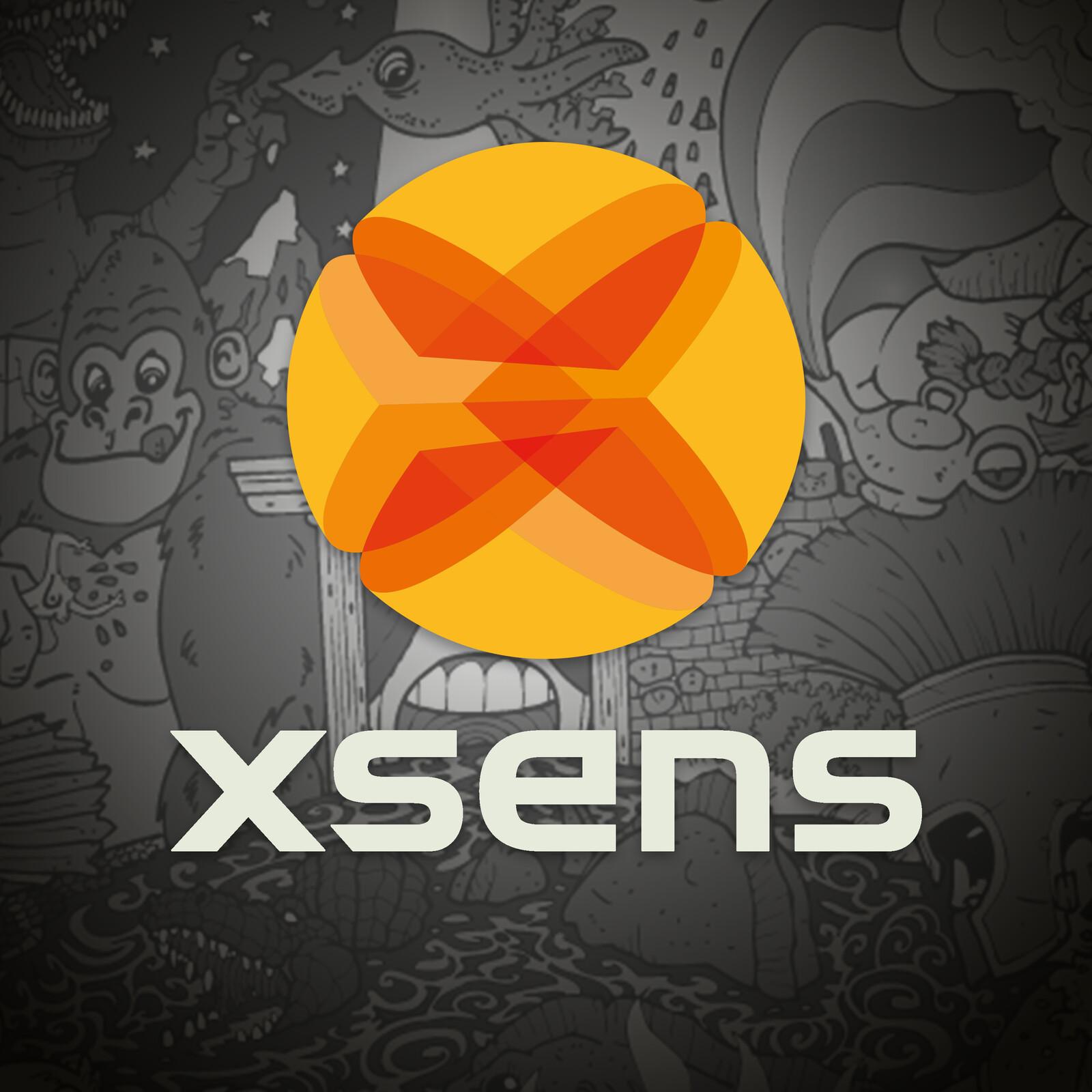 XSens logo - (Not my making!)