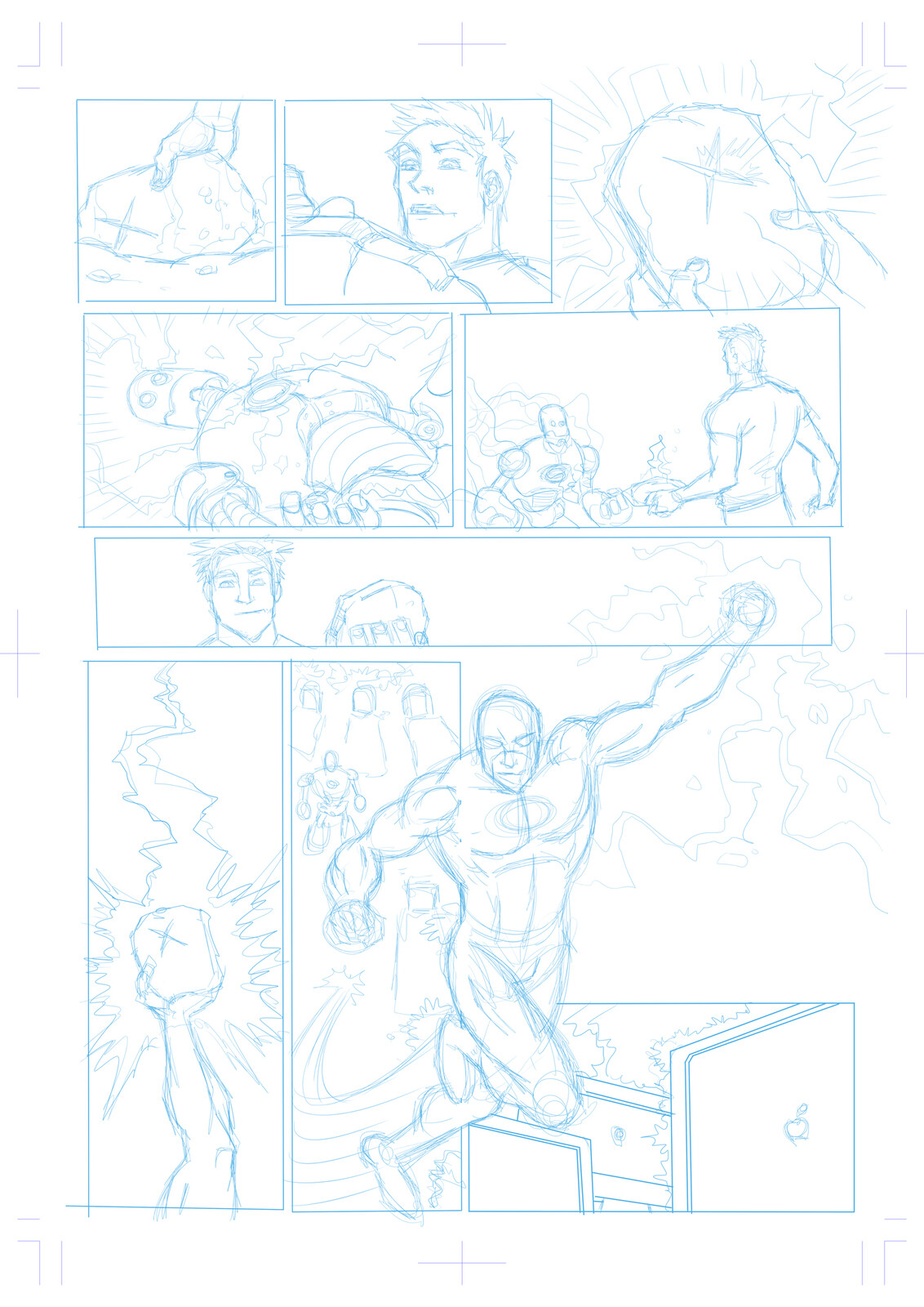 Initial layouts page 2