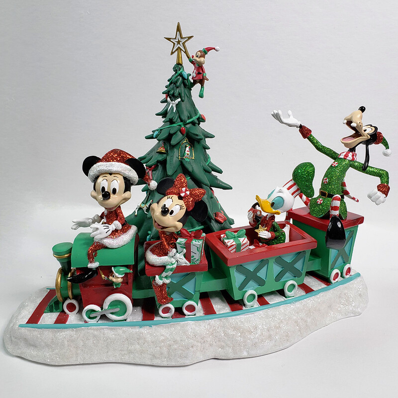 Mickey and Friends Musical Train Figurine