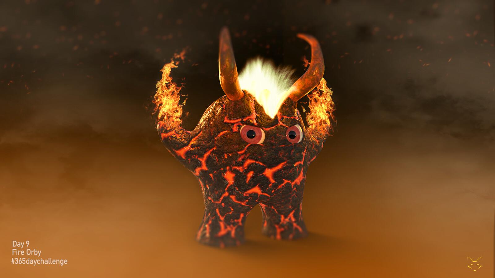 Fire Orby
