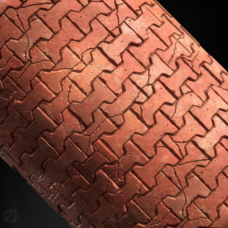 Cylinder detail.