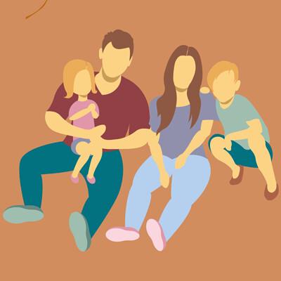 Marc michel munch axa ch familienillustration herbstanimation