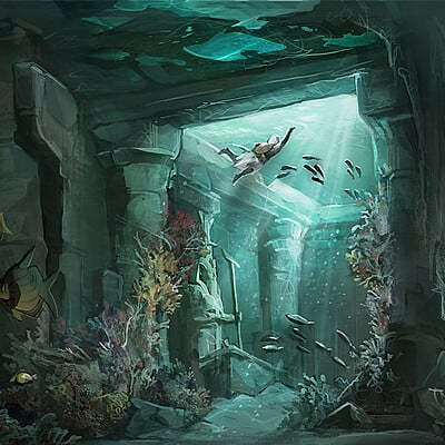 Quartervirus ace sin ev underwater temple small shamineking