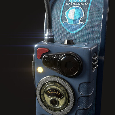Javier c m space cadet blue intercom r00