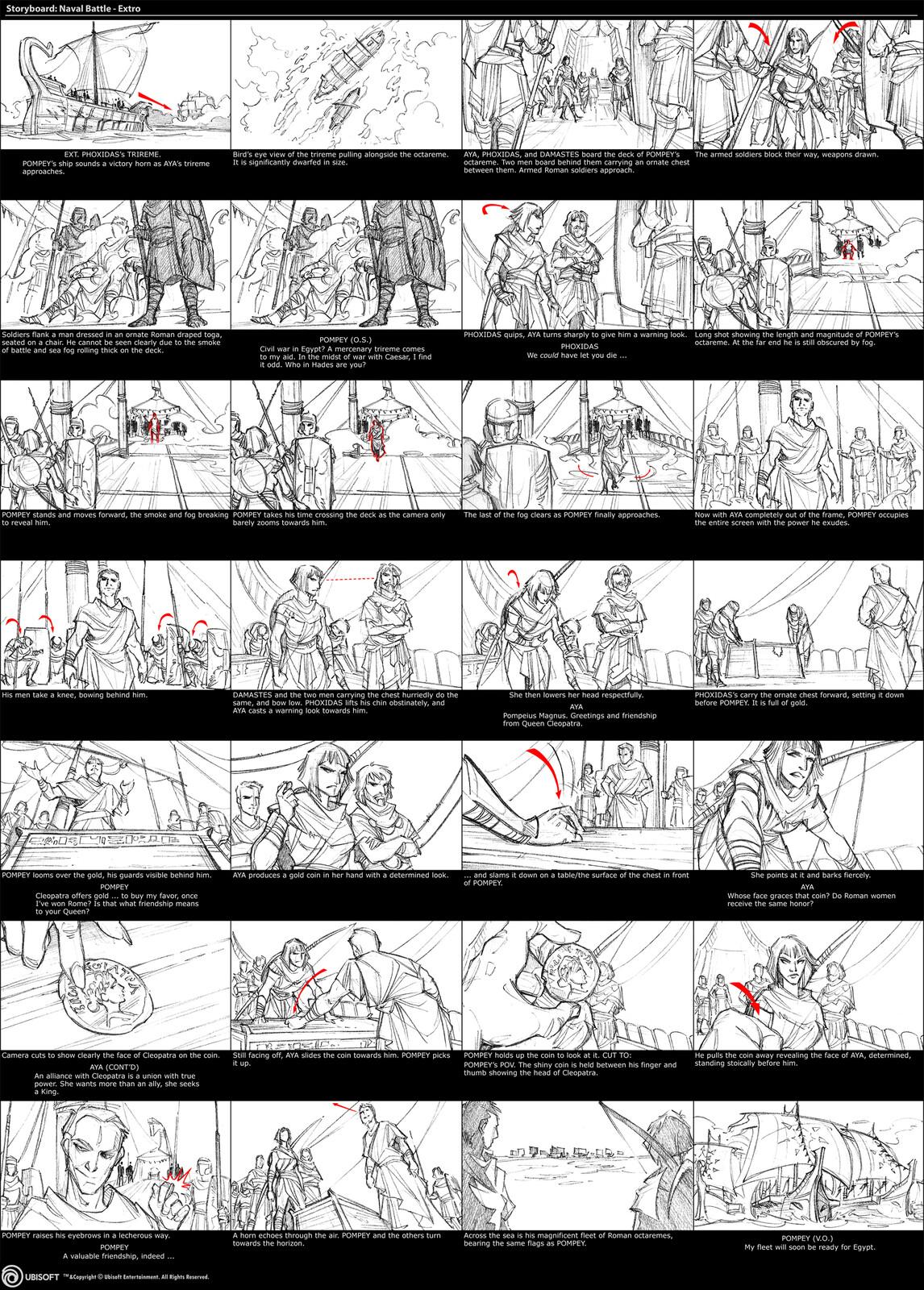 Naval Battle - Extro Cutscene