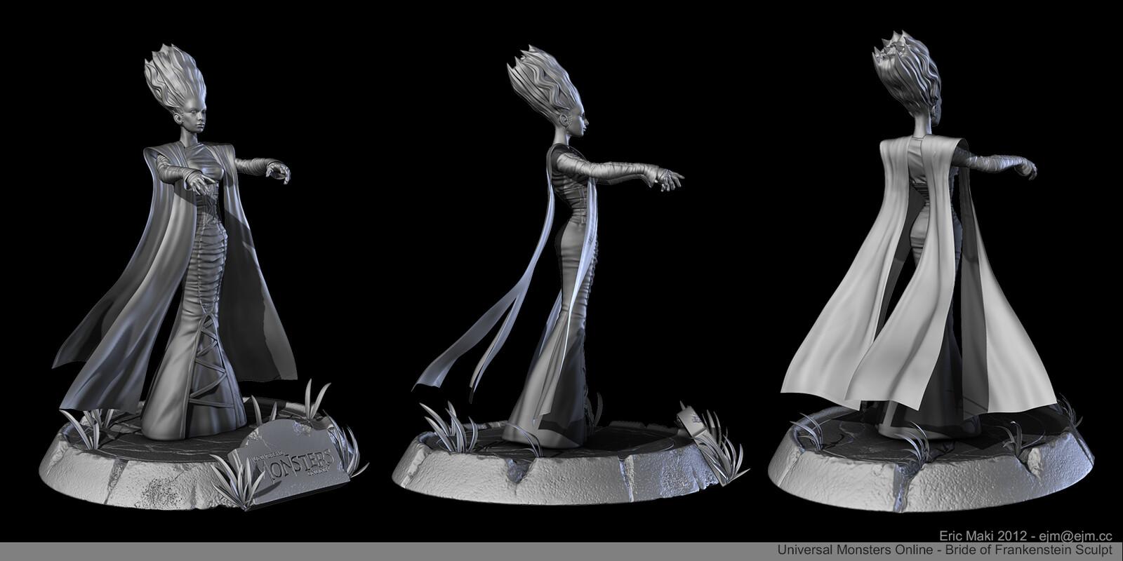 Bride of Frankenstein Sculpt