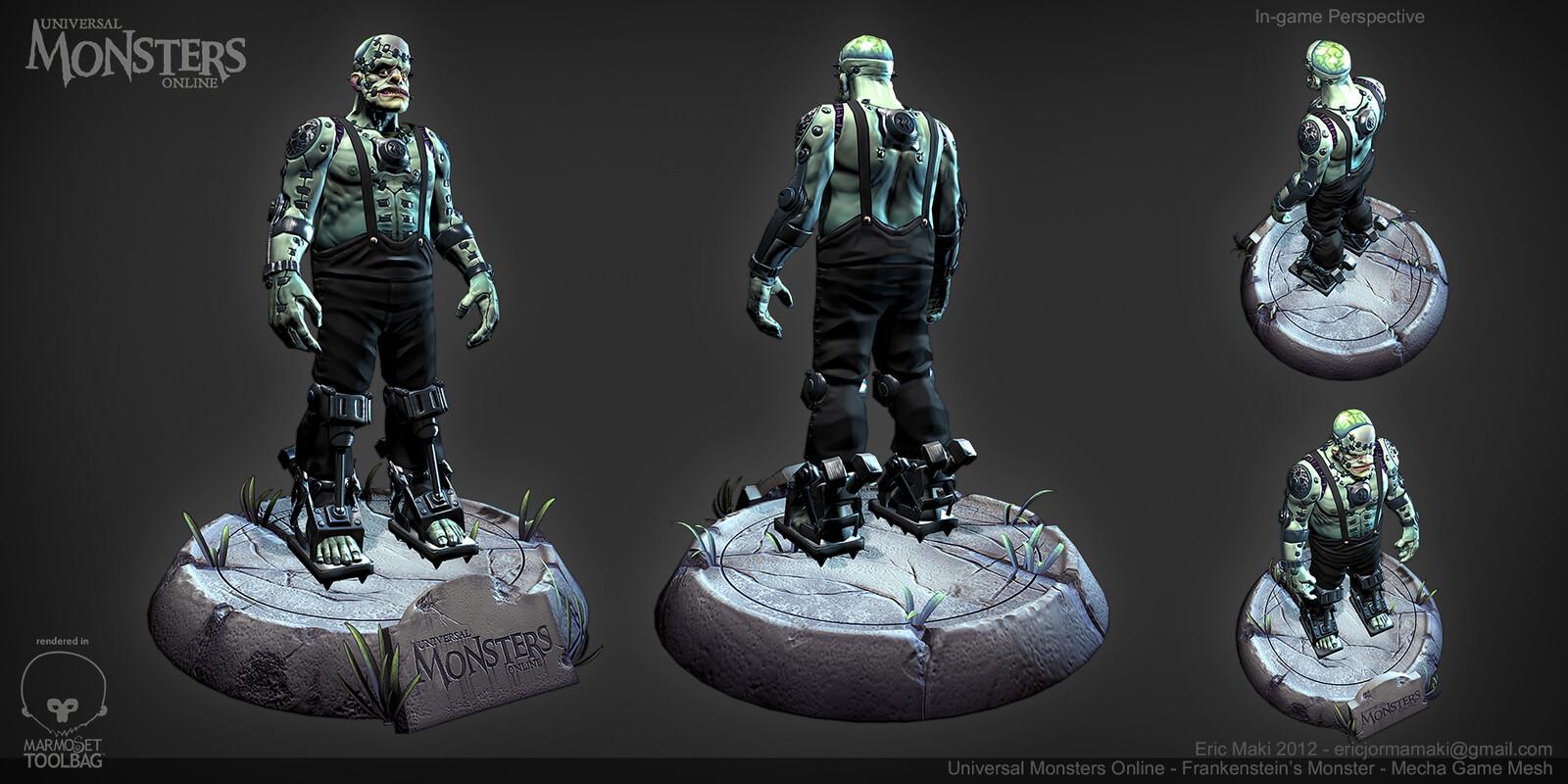 Mecha Frankenstein's Monster