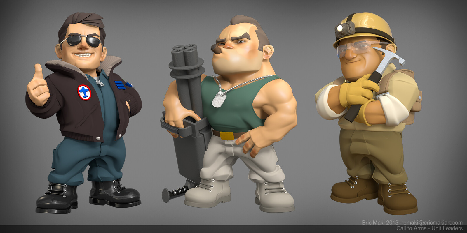 Pre-rendered Characters