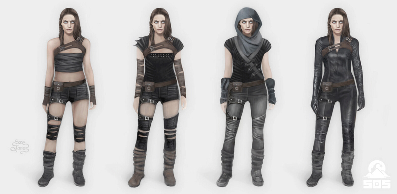 Character Outcast - Stealth Wardrobe Designs