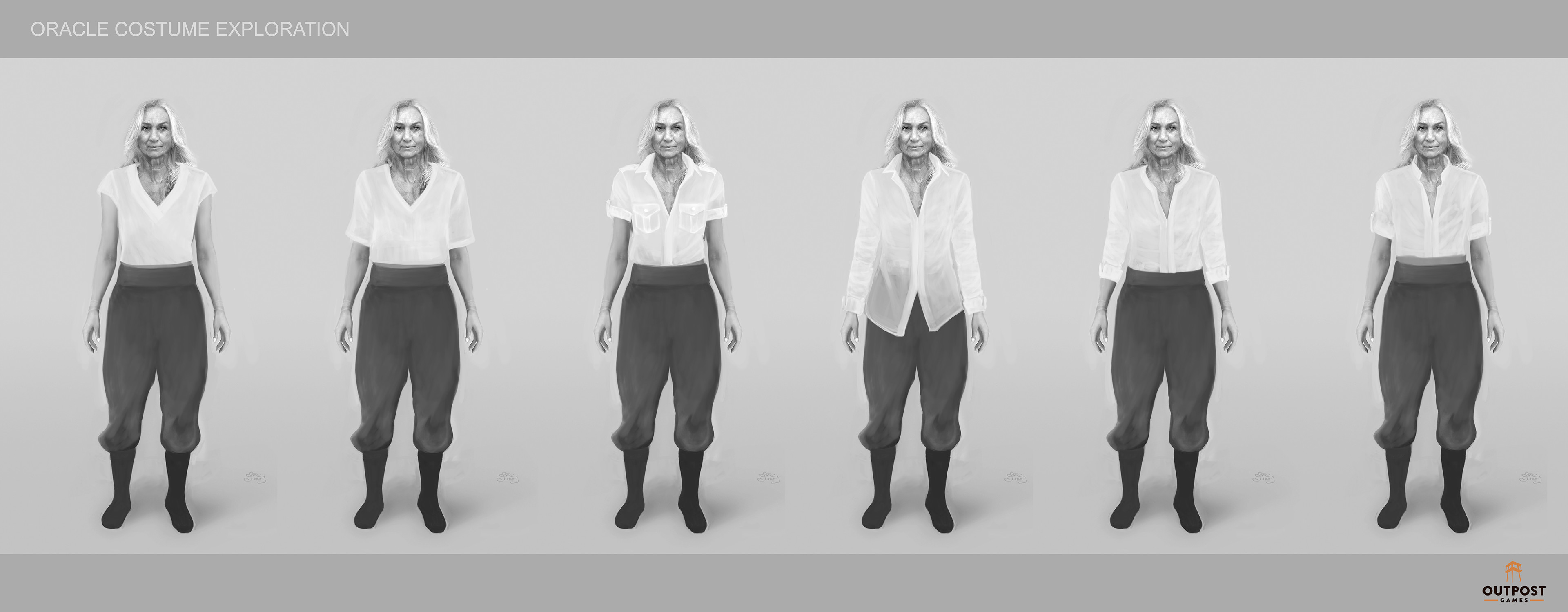 Oracle - Costume Part System Design (Shirts)