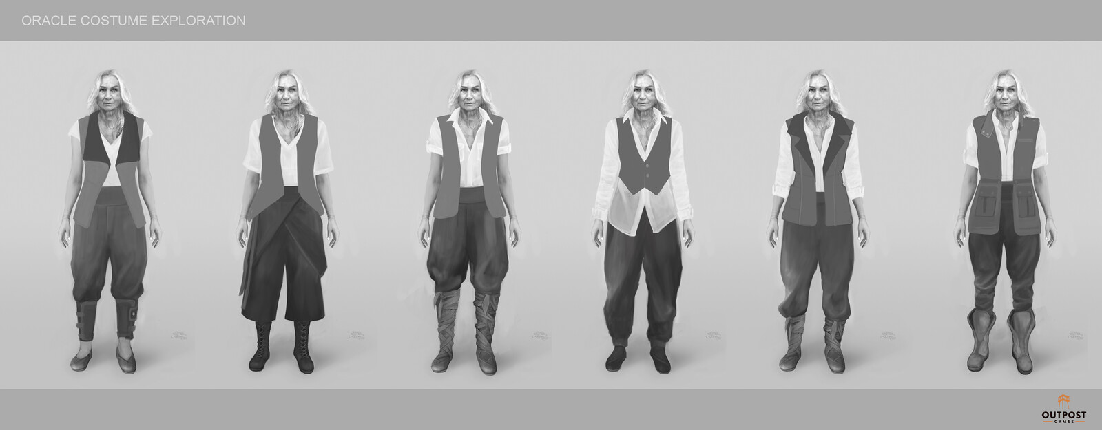 Oracle - Costume Part & Layer System Design (Vest)