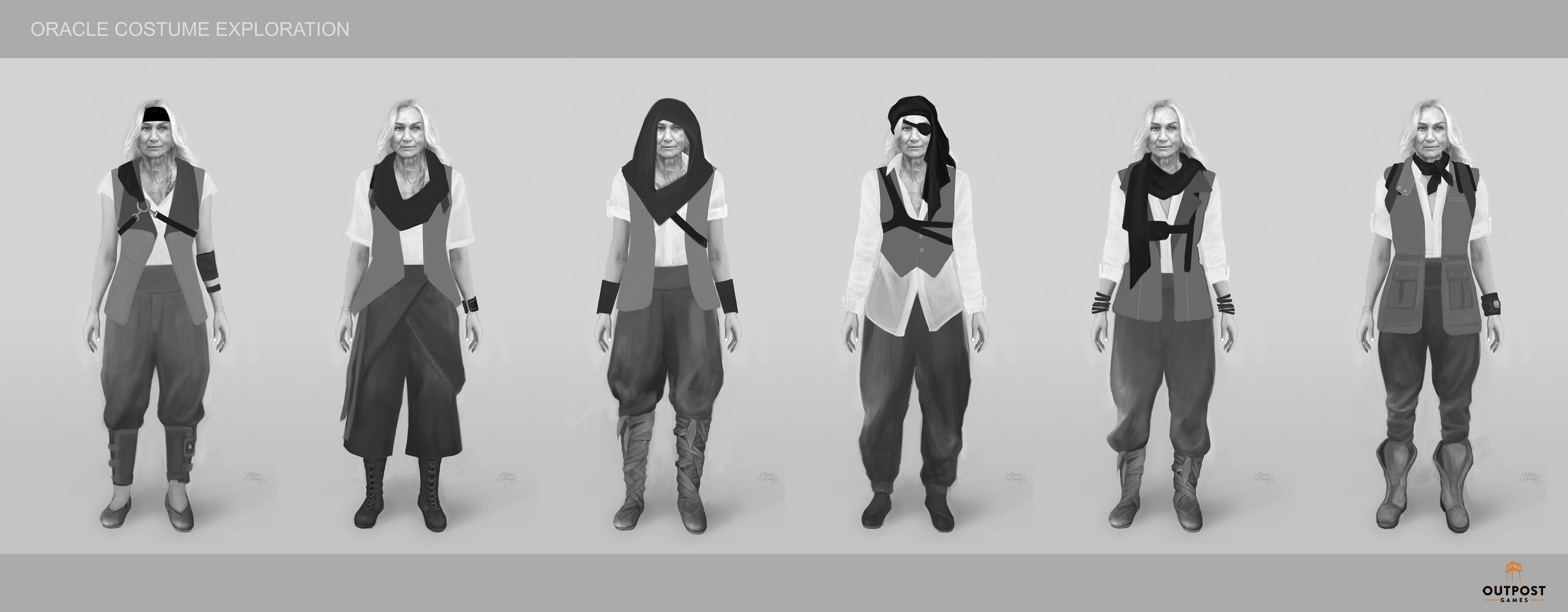 Oracle - Costume Part & Layer System Design ( All Parts Combo Examples )