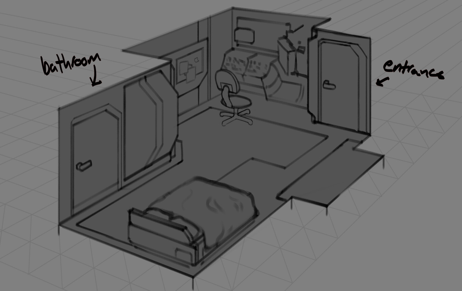Alternate bedroom designs