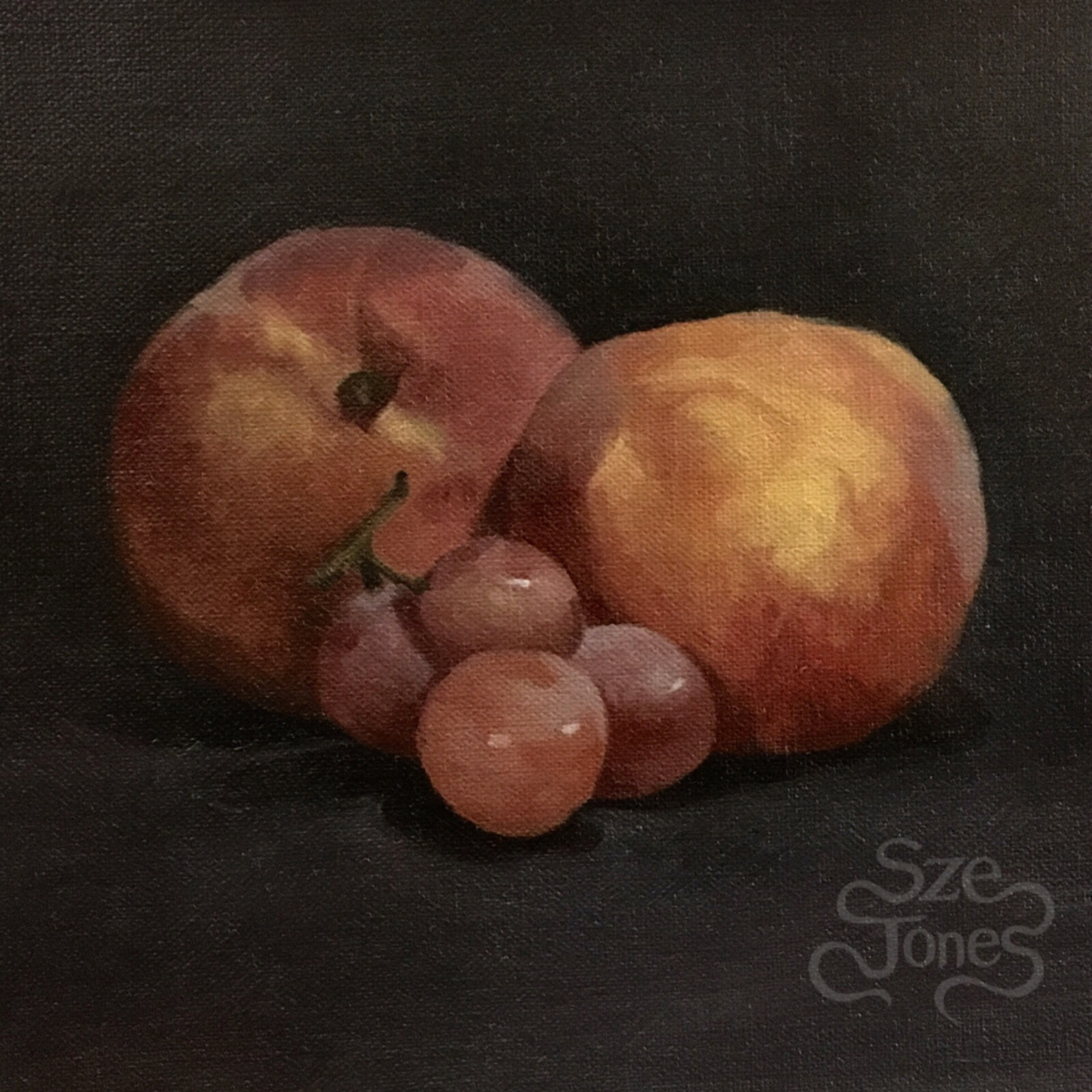 The Fruit of The Spirit - Oil on Linen