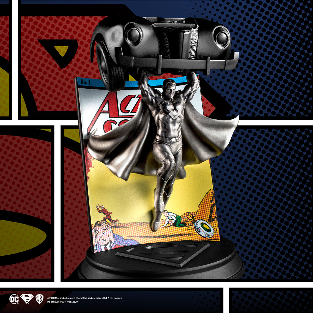 Action Comics #1 Pewter Statue