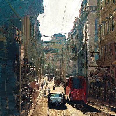 Greg rutkowski city study 1200
