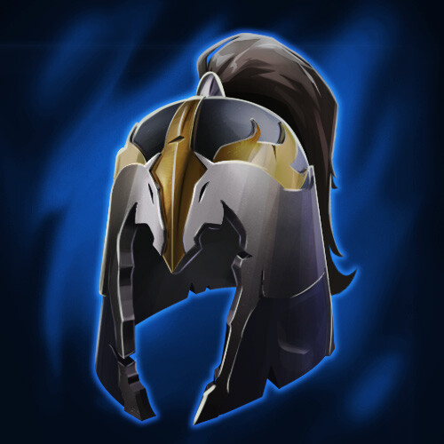 Defense - Rare - Horseman Helmet