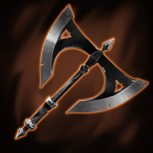 Attack - Common - Double-Bladed Axe