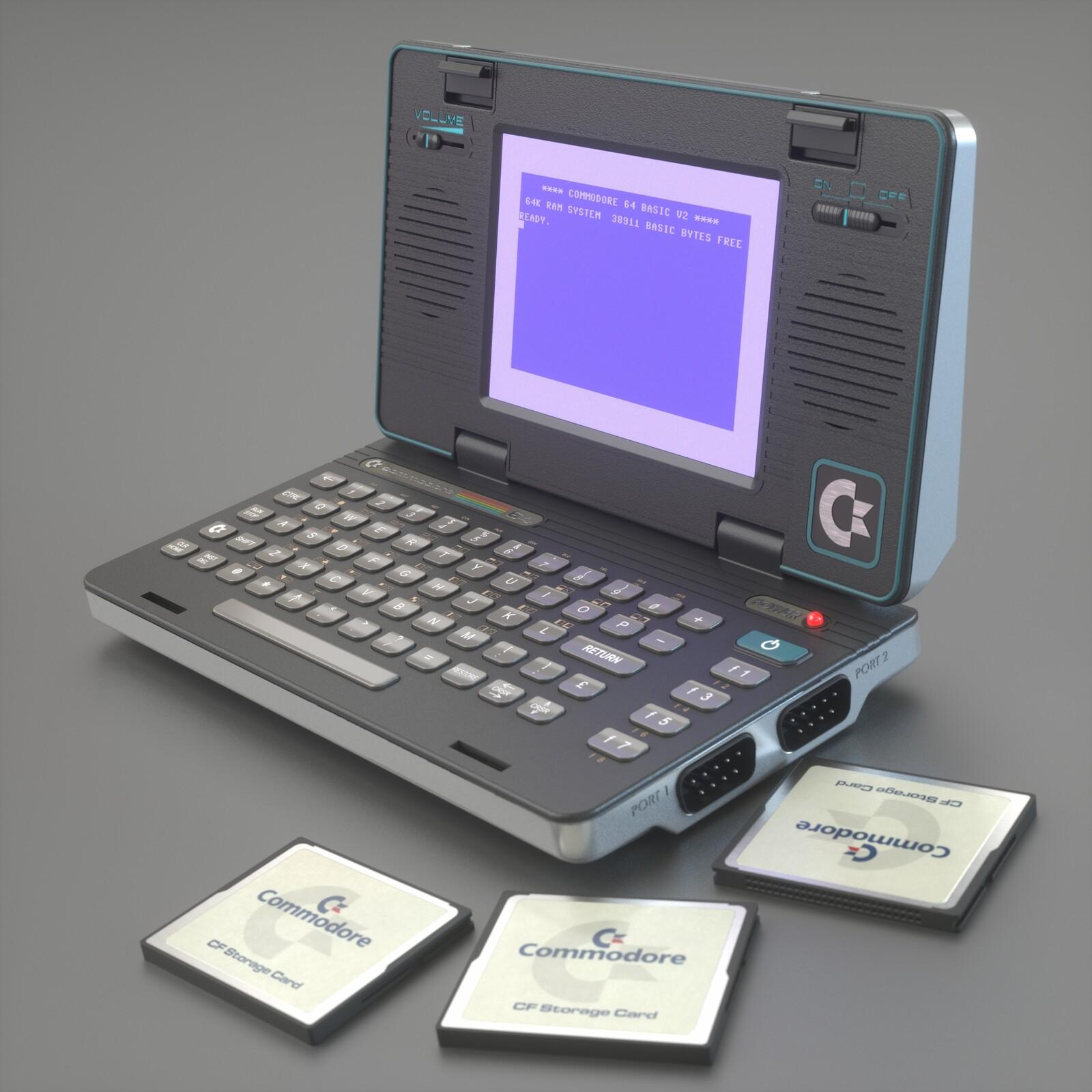 Commodore PX-64 - Reboot Concept