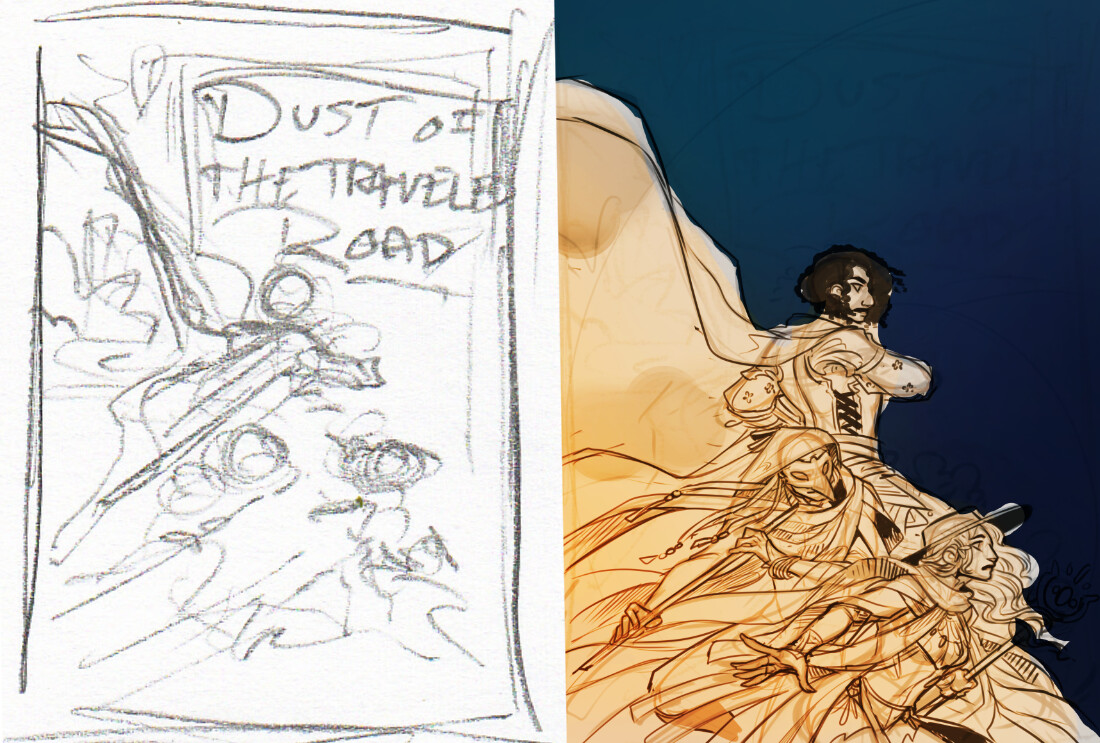 thumbnail and digital rough