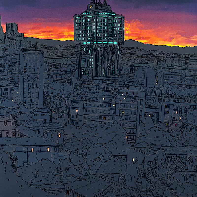 Milano 2092 - Poster