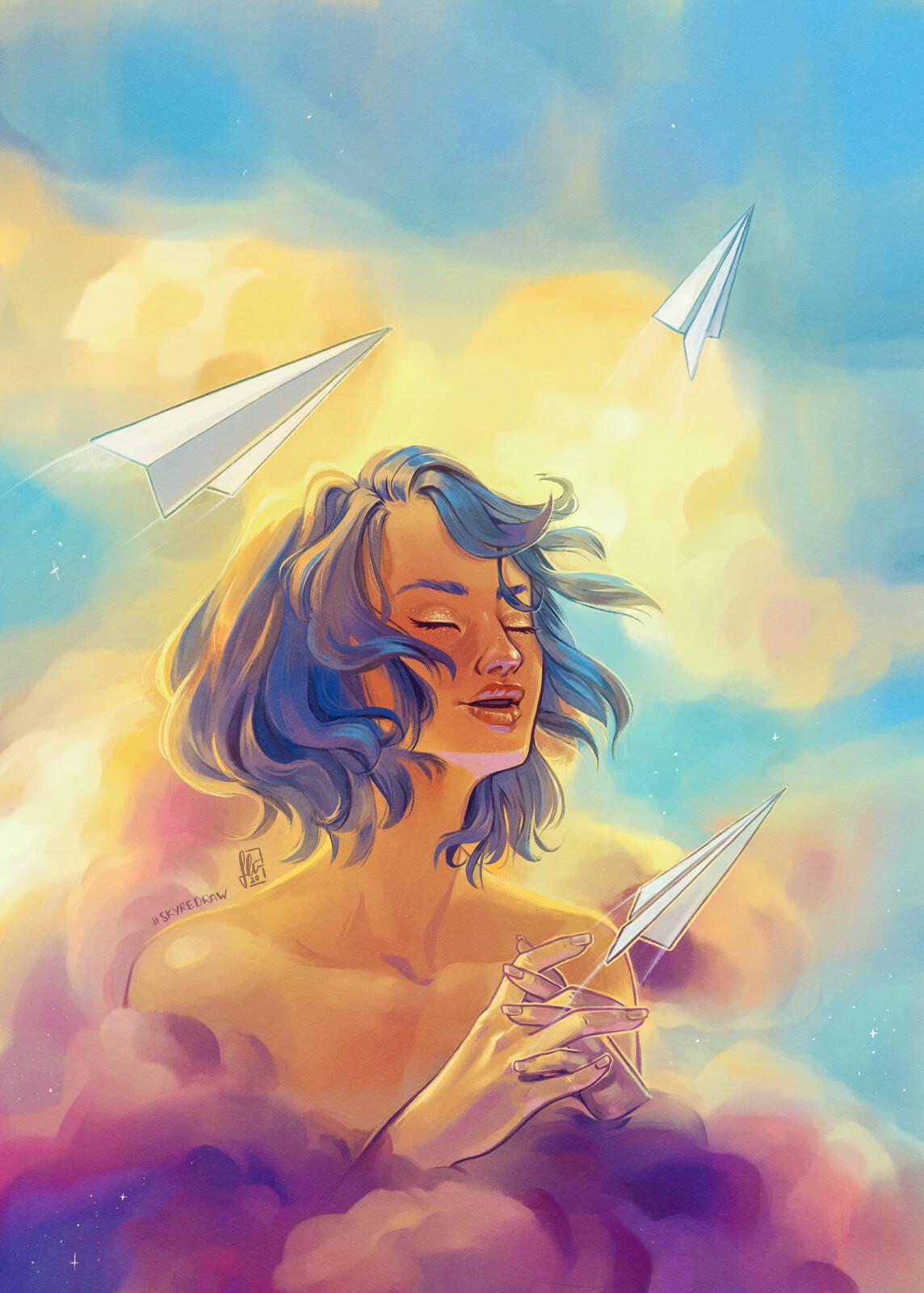 Sky redraw