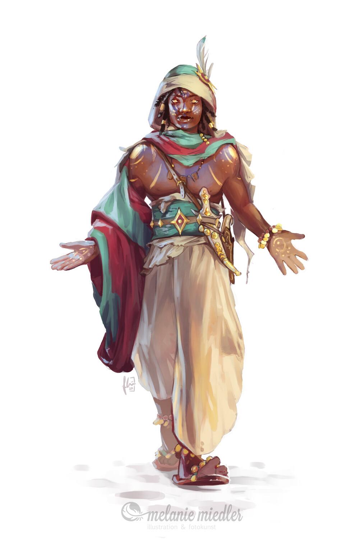 Male hosori character