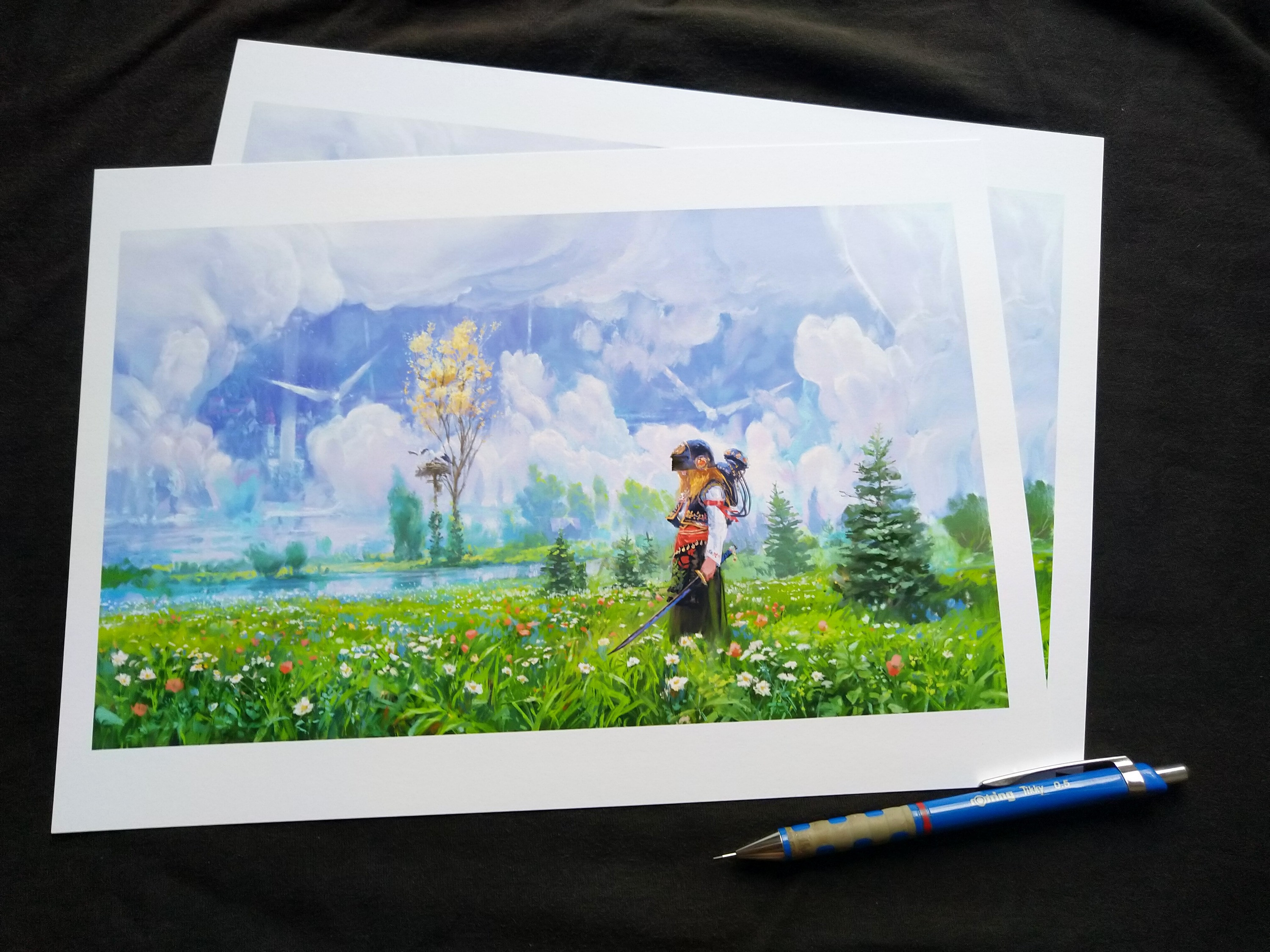 A4 fine art prints, available from $15.