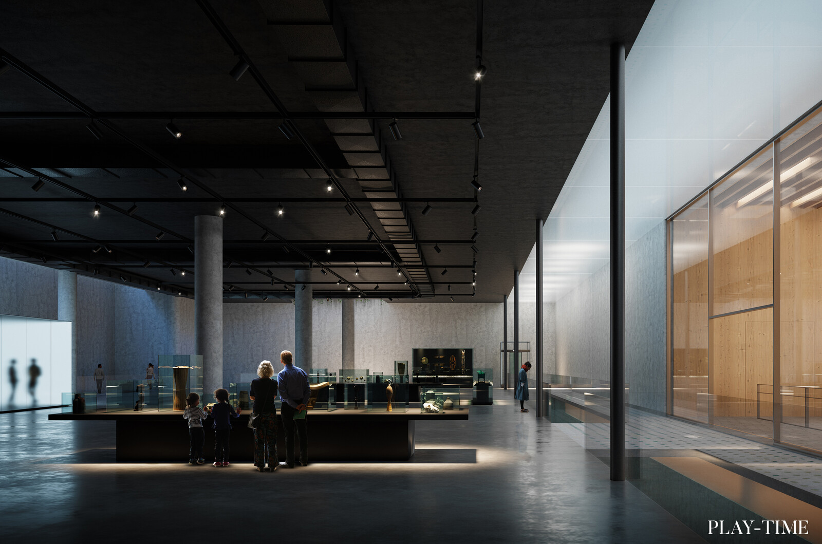 MUPAC Museum in Santander. Designed by Mateo Arquitectura. Image by Play-time