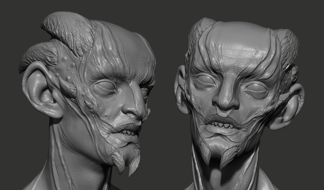Peccator ZBrush sculpt