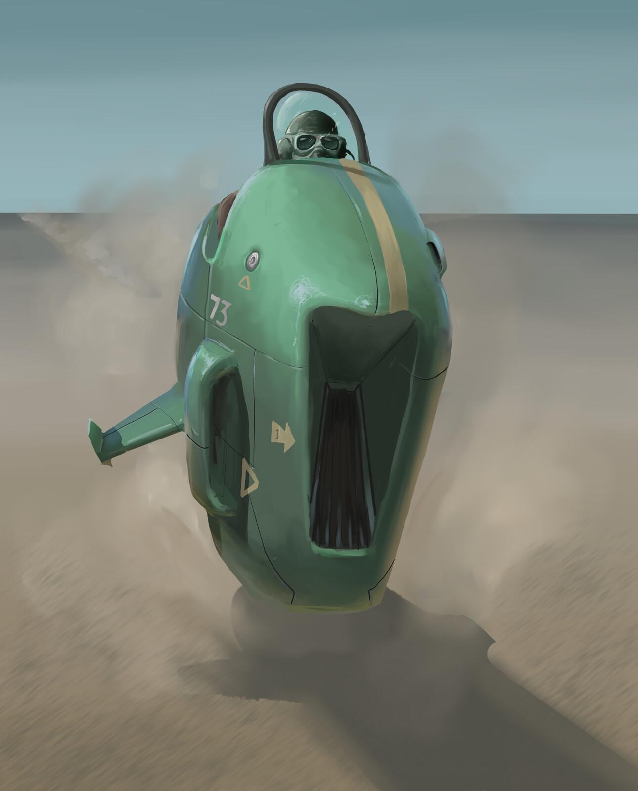 Desert Piranha