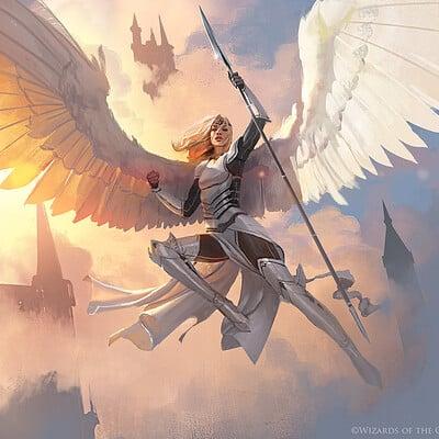 Greg rutkowski angel 1500