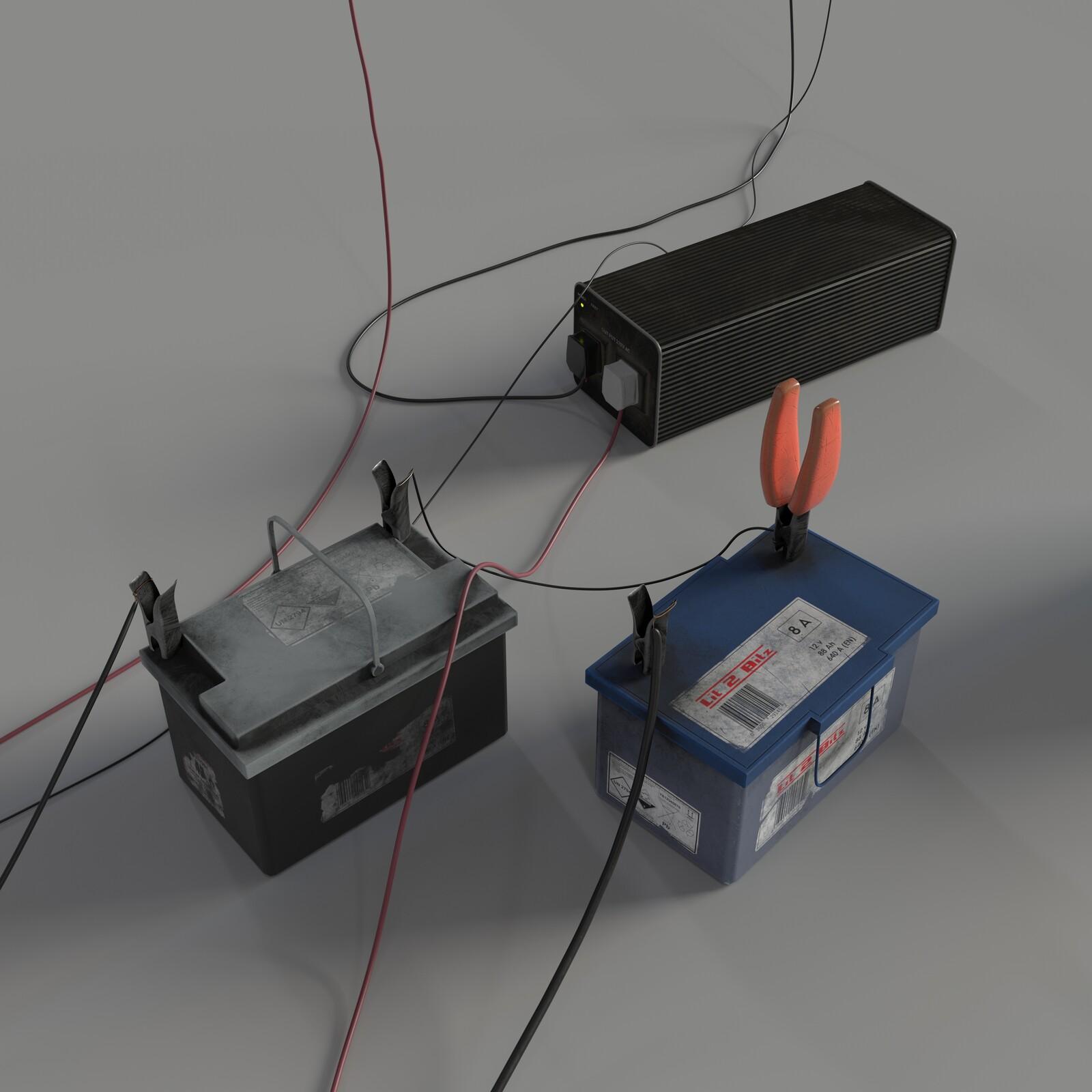 Batteries Prop