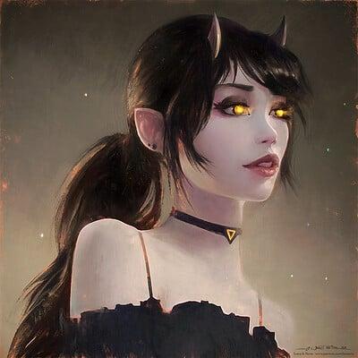 Luna Portrait Study