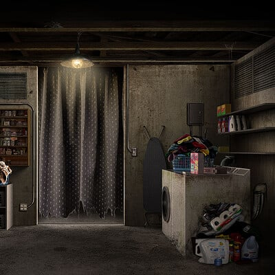 Adam milicevic insidious last key laundry room