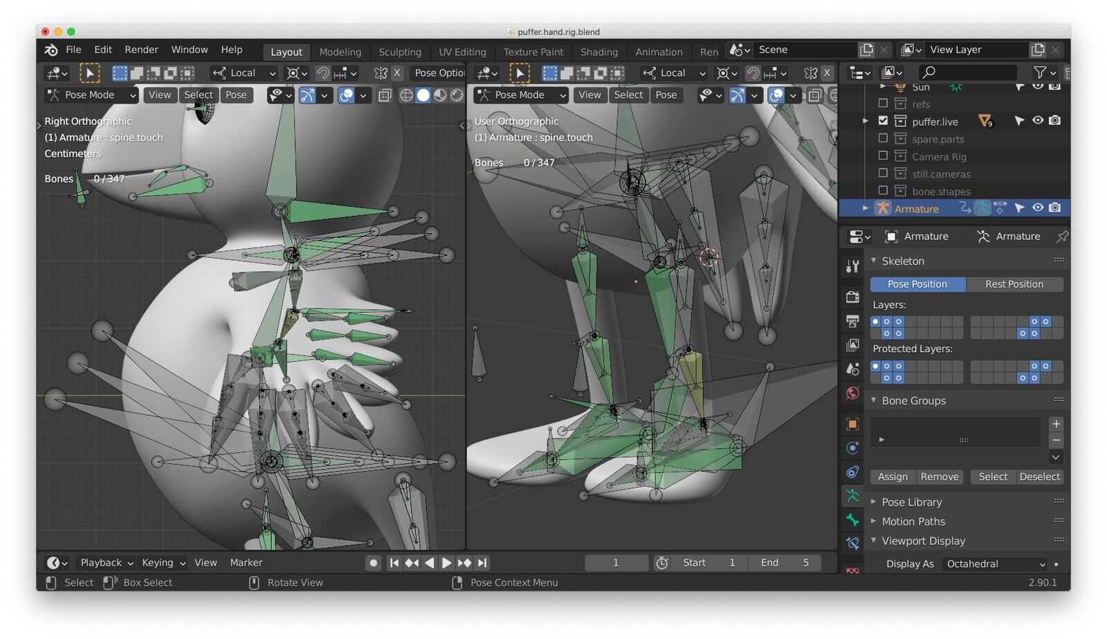 Mechanical Bones