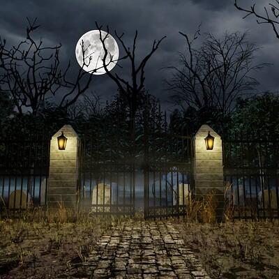 Daniel grove graveyard scene